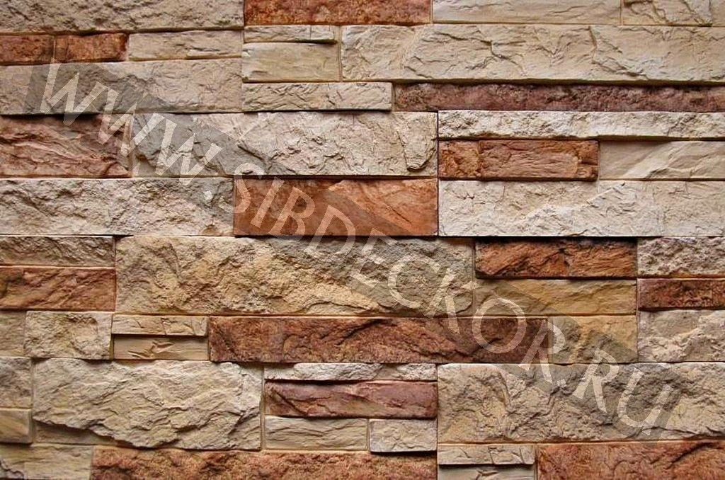 Форма для камня сланец Расшитый