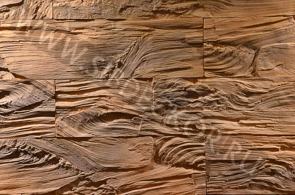 Форма для камня Древесный камень