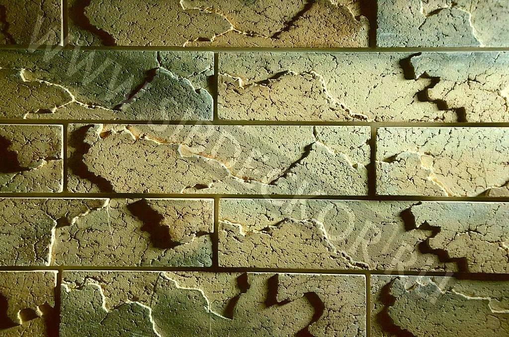 Форма для камня кирпич Рельефный