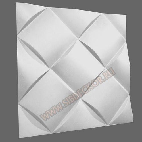 Форма для 3D панели Ромб