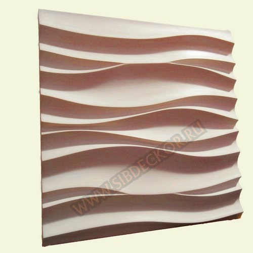 Форма для 3D панели Новая волна