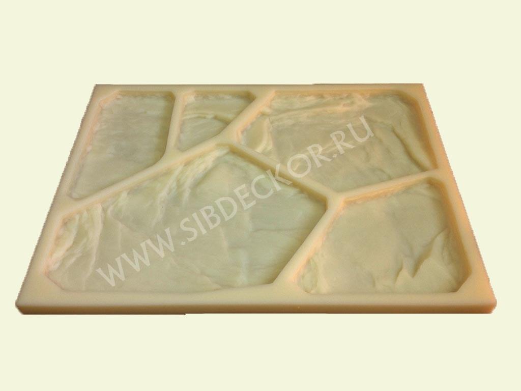 Форма для камня Плитняк