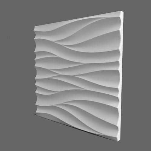Форма для 3D панели Волна-1